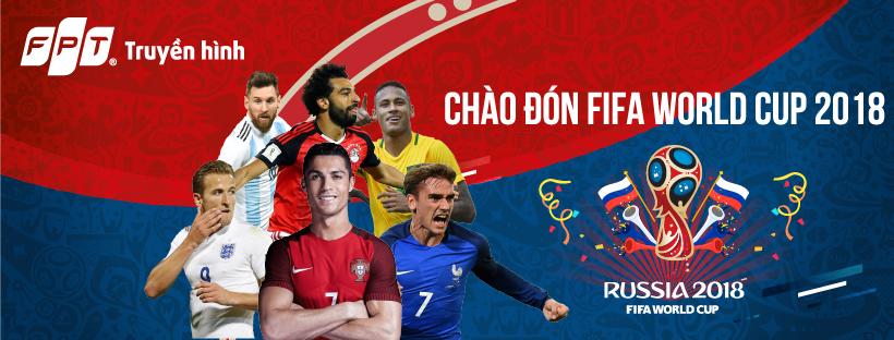 Lịch thi đấu vòng bảng World Cup 2018 từ ngày 14/06 – 29/06/2018.