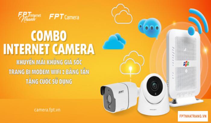 Tận hưởng ngay combo Internet và Camera của FPT Telecom giá hấp dẫn